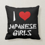 Amo a chicas japoneses cojin