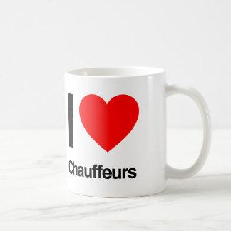 amo a chóferes taza de café