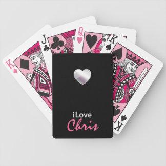 Amo a Chris Barajas De Cartas