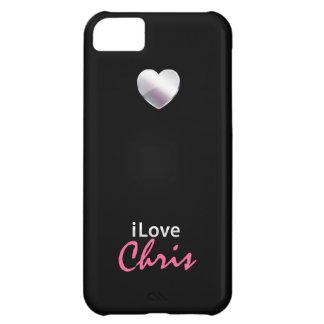 Amo a Chris Funda Para iPhone 5C