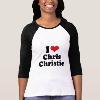 AMO A CHRISTIE DE CHRIS CAMISETA