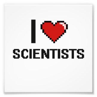 Amo a científicos fotografía