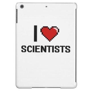 Amo a científicos funda para iPad air