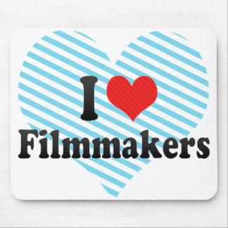 Amo a cineastas tapetes de raton