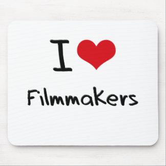 Amo a cineastas alfombrillas de ratón