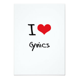 Amo a cínicos