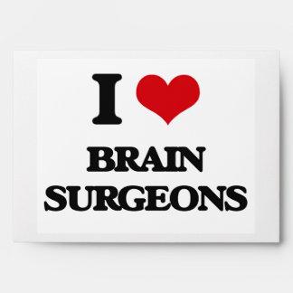 Amo a cirujanos de cerebro sobre
