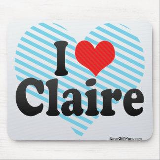 Amo a Claire Mouse Pads