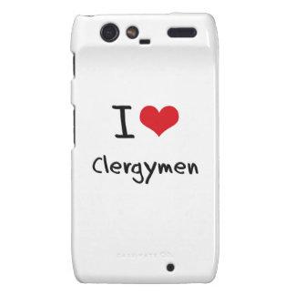 Amo a clérigos droid RAZR carcasas