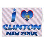 Amo a Clinton, Nueva York Felicitaciones
