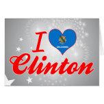 Amo a Clinton, Oklahoma Felicitación