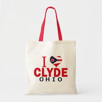 Amo a Clyde, Ohio Bolsas