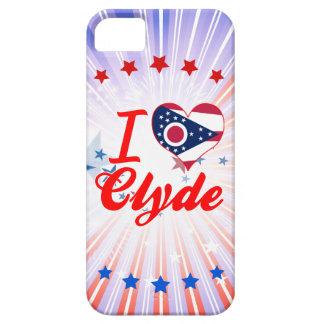 Amo a Clyde, Ohio iPhone 5 Case-Mate Cobertura