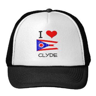 Amo a Clyde Ohio Gorras