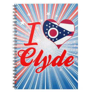 Amo a Clyde, Ohio Cuaderno