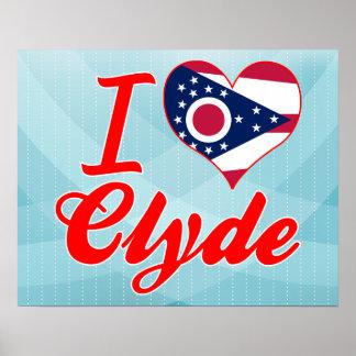 Amo a Clyde, Ohio Poster