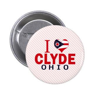 Amo a Clyde, Ohio Pin