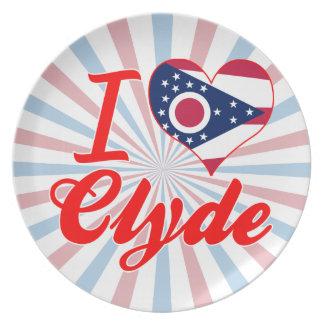Amo a Clyde, Ohio Plato De Comida
