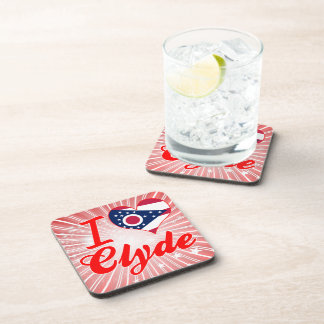 Amo a Clyde, Ohio Posavasos De Bebidas