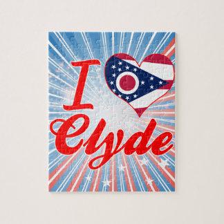 Amo a Clyde, Ohio Rompecabezas