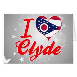 Amo a Clyde, Ohio Felicitaciones