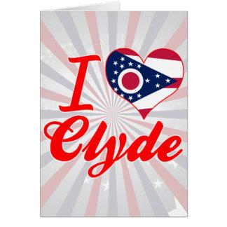 Amo a Clyde, Ohio Tarjeton