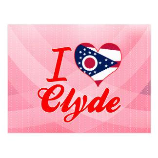 Amo a Clyde, Ohio Postales
