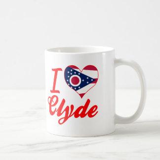 Amo a Clyde, Ohio Tazas