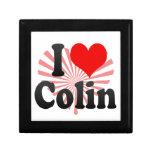 Amo a Colin Caja De Recuerdo