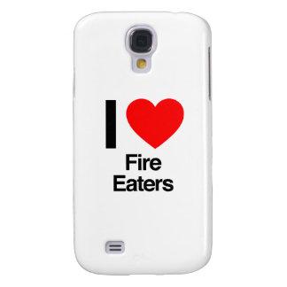 amo a comedores de fuego funda para galaxy s4