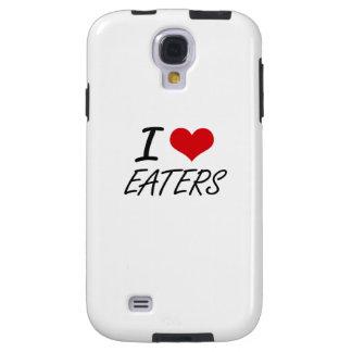 Amo a COMEDORES Funda Para Galaxy S4