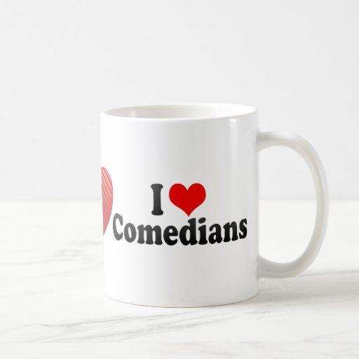 Amo a cómicos tazas