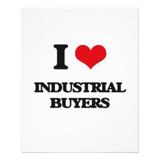 Amo a compradores industriales tarjeton