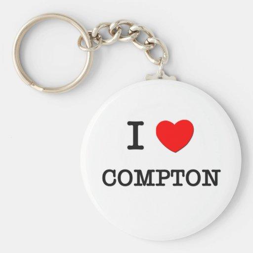 Amo a Compton Llaveros