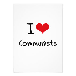 Amo a comunistas anuncio