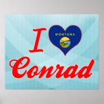 Amo a Conrado, Montana Posters