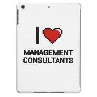 Amo a consultores en administración de empresas funda para iPad air