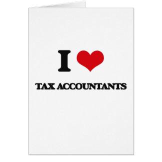 Amo a contables del impuesto tarjeton