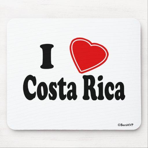 Amo a Costa Rica Mousepad