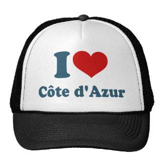 Amo a Cote Azur Gorra