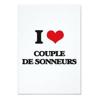 Amo a COUPLE DE SONNEURS Invitaciones Personales