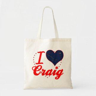 Amo a Craig, Alaska Bolsas De Mano