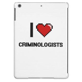 Amo a criminalistas funda para iPad air