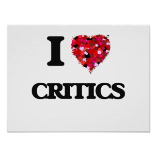 Amo a críticos póster