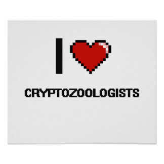Amo a Cryptozoologists Póster