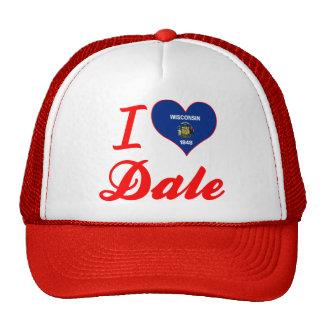 Amo a Dale, Wisconsin Gorros Bordados