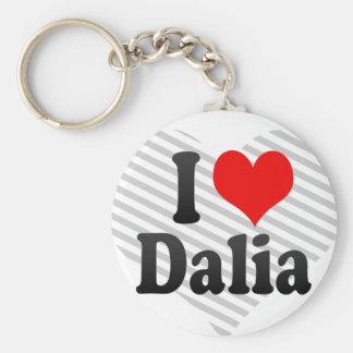 Amo a Dalia Llavero Personalizado