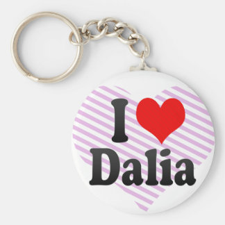 Amo a Dalia Llaveros