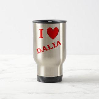 Amo a Dalia Taza De Viaje