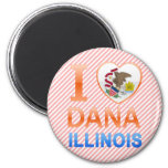Amo a Dana, IL Imanes Para Frigoríficos